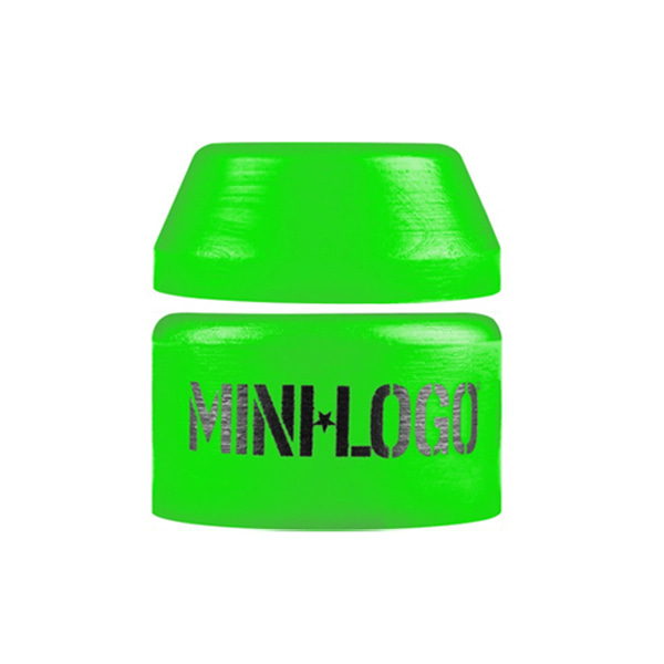 미니로고 스케이트 부싱 / MINILOGO SOFT BUSHINGS SINGLE 84A GREEN [1SET]